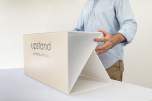 Budget Stand-up desk by Upstand