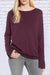 Casual Sleeve Zipper Design Purple Sweaters