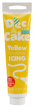 Dec-A-Cake Icing Tube, Yellow, 4.25 oz (Pack of 6)