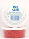 Dec-A-Cake Cinnamon Imperials Cups, 4 oz (Pack of 12)