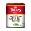 Tone's  Pepper, Green Bell (Pack of 6)