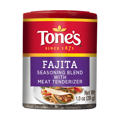 Tone's  Fajita Seasoning (Pack of 6)
