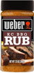 Weber KC BBQ Rub, 7.25 oz