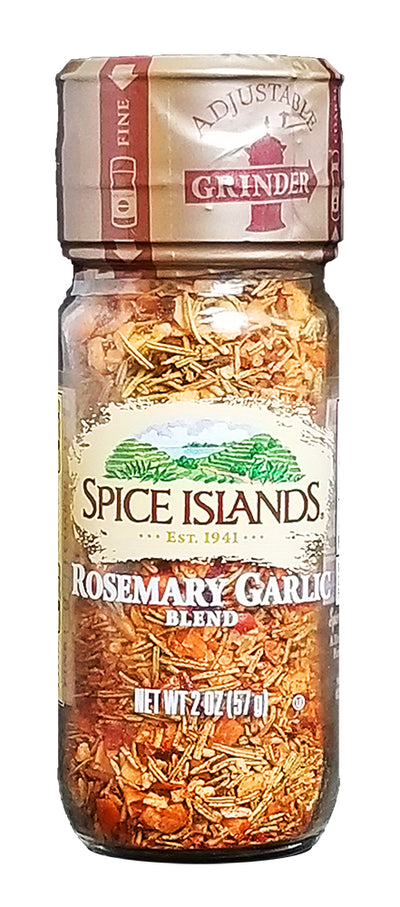 Spice Islands Rosemary Garlic Grinder, 2 oz