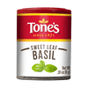 Tone's  Basil Leaves,  (Pack of 6)