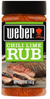 Weber Chili Lime Rub, 5.75 oz.