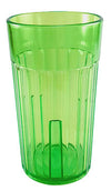 Arrow 6 oz. Rainbow Tumblers, Green Cup