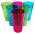 Arrow 6 oz. Rainbow Tumblers, Assorted Colors - 6 count