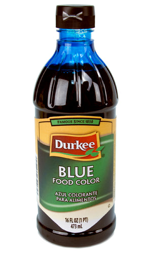 Durkee Blue Food Color, 16 oz