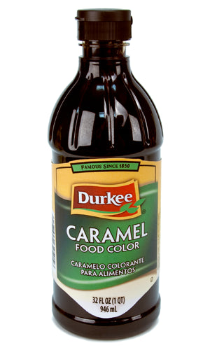 Durkee Caramel Food Color, 32 oz