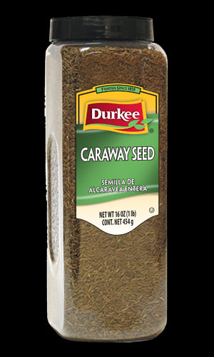 Durkee Whole Caraway Seed, 16 oz