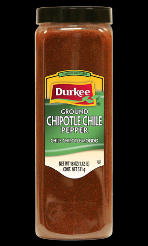 Durkee Ground Chipotle Chile Pepper, 18 oz