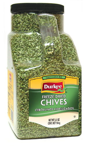 Durkee Freeze Dried Chives, 5.5 oz