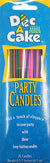 Dec-A-Cake Party Candles, (12 pack, 24 candles per pack)