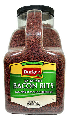 Durkee Bacon Bits, Imitation, 4.5 lbs