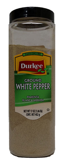 Durkee Pepper, White Ground 17 oz