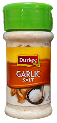 Durkee Garlic Salt, 4.5 oz