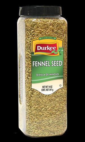 Durkee Whole Fennel Seed, 14 oz