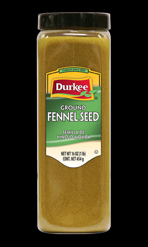 Durkee Ground Fennel Seed, 16 oz