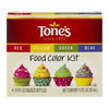 Tone's Food Color Kit (4 - 0.3 oz. bottles)