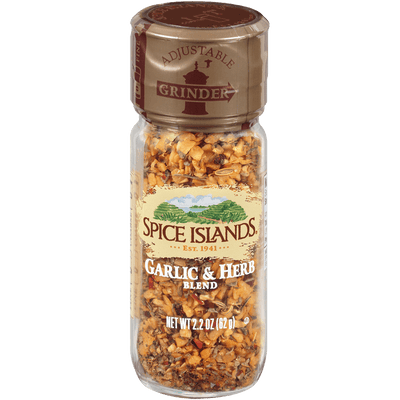 Spice Islands Garlic & Herb Grinder, 2.2oz