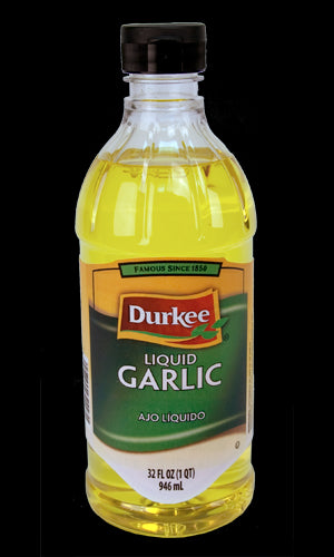 Durkee Garlic, Liquid 32 oz