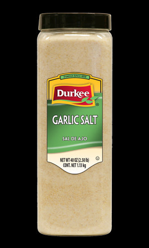 Durkee Garlic Salt, 40 oz
