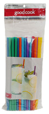 Good Cook Jumbo Drinking Straws, 50 ct