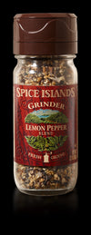 Spice Islands Lemon Pepper Grinder, 2.2 oz