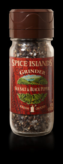 Spice Islands Sea Salt & Black Pepper Grinder, 4.2 oz
