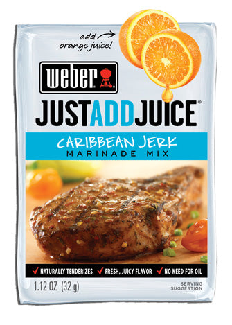 Weber Caribbean Jerk Marinade Mix, 1.12 oz.