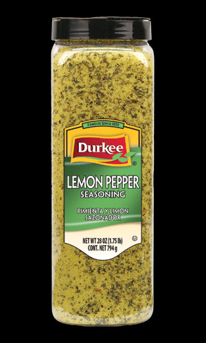Durkee Lemon Pepper, 28 oz