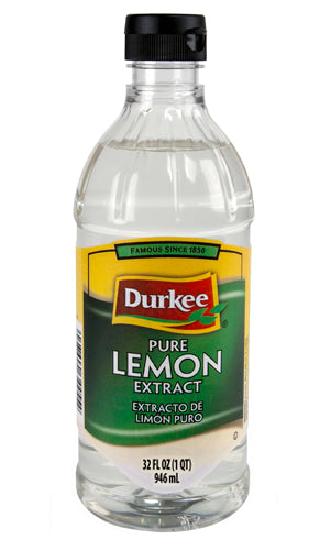 Durkee Lemon, Pure Extract 32 oz
