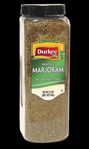 Durkee Marjoram Leaves, Whole 3.5 oz