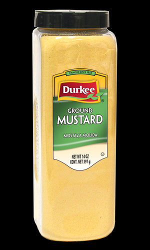 Durkee Mustard Seed, Ground 14 oz