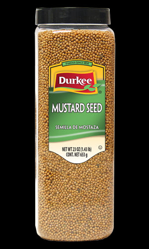 Durkee Whole Mustard Seed, 23 oz.