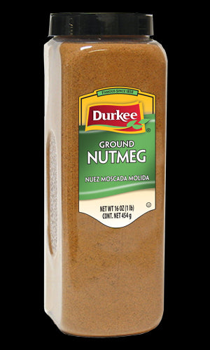 Durkee Nutmeg, Ground 16 oz