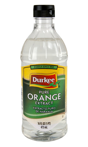 Durkee Orange Pure Extract, 16 oz