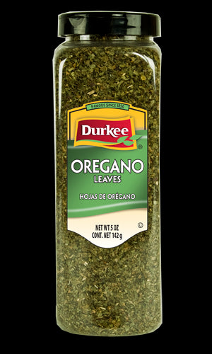 Durkee Oregano Leaves, Whole 5 oz