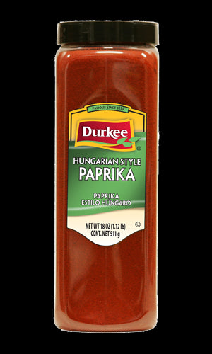 Durkee Paprika, Hungarian Style 18 oz