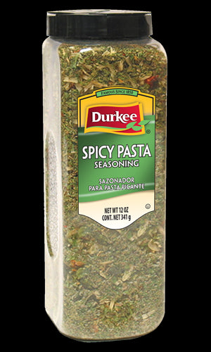Durkee Spicy Pasta Season (Formerly Tone's Italian Spaghetti Seasoning), 12 oz.