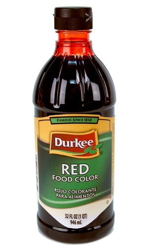 Durkee Red Food Color, 32 oz