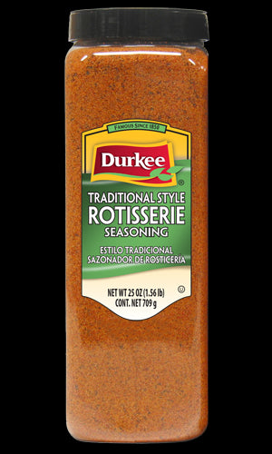 Durkee Traditional Style Rotisserie Seasoning, 25 oz