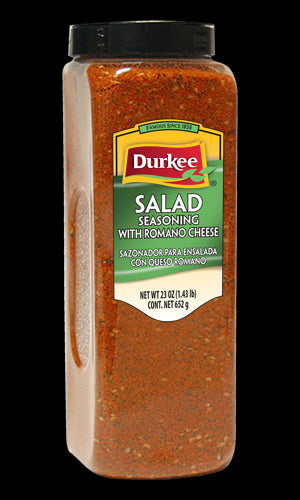 Durkee Salad Season w/Romano Cheese, 23 oz