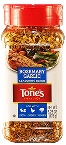 Tone's Rosemary Garlic, 6.25 oz.