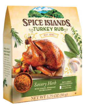 Spice Islands Turkey Rub Kit