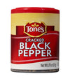 Tone's  Pepper, Black Cracked (Pack of 6)