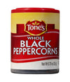 Tone's  Pepper, Black Whole (Pack of 6)