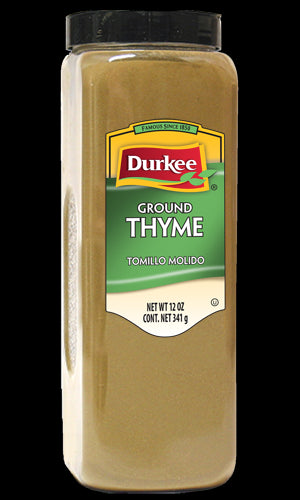 Durkee Ground Thyme, 12 oz.