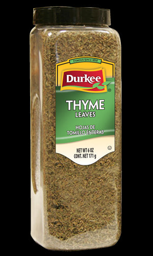 Durkee Whole Thyme Leaves, 6 oz.
